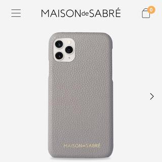 MAISON KITSUNE' - MAISON de SABREメゾンドサブレ iPhone 11 Pro MAX