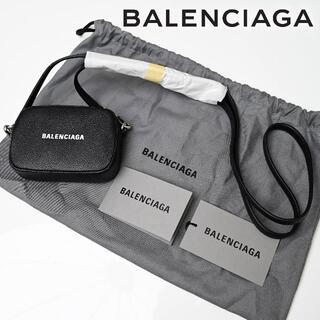 Balenciaga - 新品 BALENCIAGA Cash ロゴ レザー ミニ ショルダー