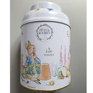 コストコ - ♥特価♥ ピーターラビット缶 トラディショナル イングリッシュティー 240P