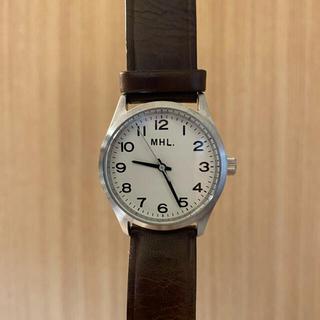 マーガレットハウエル(MARGARET HOWELL)のMHL マーガレットハウエル 時計 【値下げ中】(腕時計)