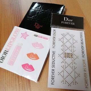 クリスチャンディオール(Christian Dior)のDior シール ノート(ノベルティグッズ)