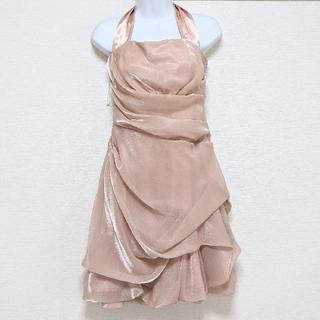 スコットクラブ(SCOT CLUB)の美品☆SCOTCLUBドレス ウェディング ドレス 結婚式 二次会 パーティー(ミディアムドレス)