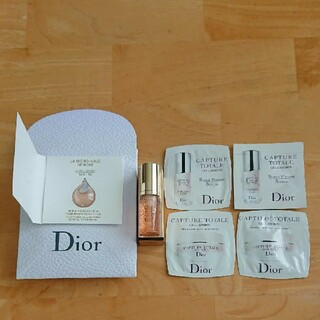 Dior - ディオール 美容液 クリーム サンプル ギフト袋