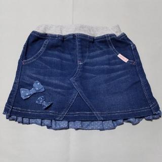 ニットプランナー(KP)のトロワラパン Trois Lapin KP デニムスカート 100cm(スカート)