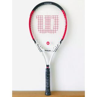 ウィルソン(wilson)の【新品同様】ウィルソン『ロジャーフェデラー/FEDERER 27』テニスラケット(ラケット)