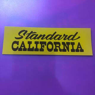 スタンダードカリフォルニア(STANDARD CALIFORNIA)のstandard California 非売品ステッカー(その他)