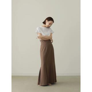トゥデイフル(TODAYFUL)のlouren mermaid pleats skirtマーメイドプリーツスカート(ロングスカート)