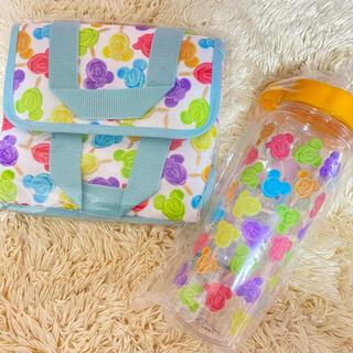 ディズニー(Disney)のミッキーアイス♡スーベニア ランチケース&ドリンクボトル(弁当用品)