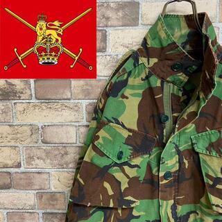 スイスミリタリー(SWISS MILITARY)の●イギリス軍●コンバットスモック フィールドジャケット エポレット DPMカモ(ミリタリージャケット)
