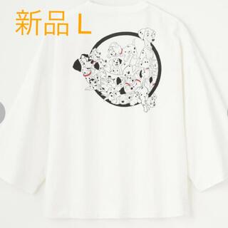 ディズニー(Disney)のディズニー Tシャツ(101匹わんちゃん)101 L  (Tシャツ(長袖/七分))