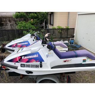 カワサキ(カワサキ)のKawasaki jet  ski 650sx 2艇+トレーラーセット販売(マリン/スイミング)