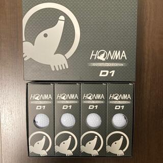 ホンマゴルフ(本間ゴルフ)のゴルフボール ホワイト HONMA-D1(ゴルフ)