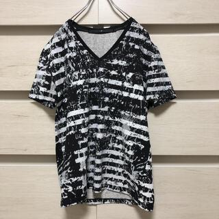 ノーアイディー(NO ID.)のNO ID ノーアイディー ボーダーTシャツ(Tシャツ/カットソー(半袖/袖なし))