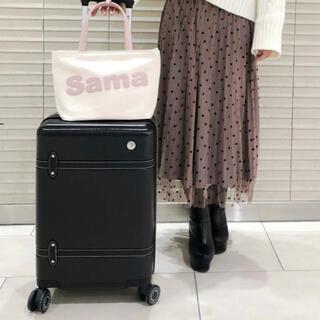 サマンサタバサ(Samantha Thavasa)のSamantha Thavasa(サマンサタバサ)キャリーケース 小 ブラック(スーツケース/キャリーバッグ)