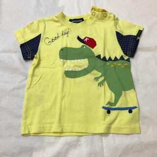 kladskap - クレードスコープ 恐竜Tシャツ 80cm