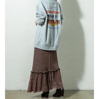 ミスティック(mystic)のmystic ラメニットスカート(ロングスカート)