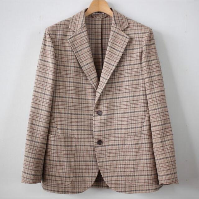 COMOLI(コモリ)のAURALEE 18ss SILK SUMMER TWEED JACKET メンズのジャケット/アウター(テーラードジャケット)の商品写真
