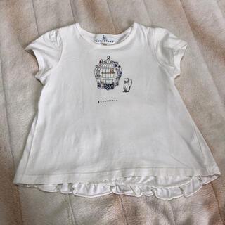 クミキョク(kumikyoku(組曲))の組曲 クミキョク Tシャツ トップス 120(Tシャツ/カットソー)
