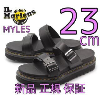 ドクターマーチン(Dr.Martens)のドクターマーチン マイルス MYLES 23cm UK4 厚底サンダル 新品(サンダル)