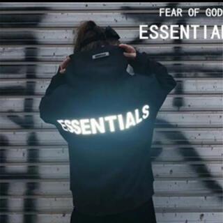 FEAR OF GOD - 【新品未使用品★Lサイズ】FOG★エッセンシャルズ★パーカー★ブラック