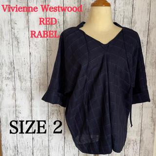 ヴィヴィアンウエストウッド(Vivienne Westwood)の新品未使用ヴィヴィアンウエストウッドレッドレーベル半袖ブラウス(シャツ/ブラウス(半袖/袖なし))
