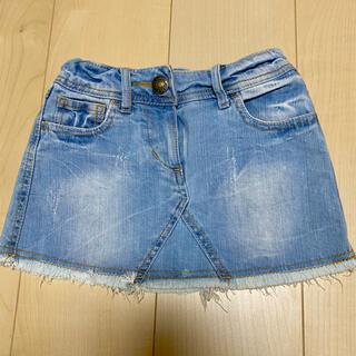 ジェニィ(JENNI)のJENI デニムミニスカート デニムスカート size120(スカート)