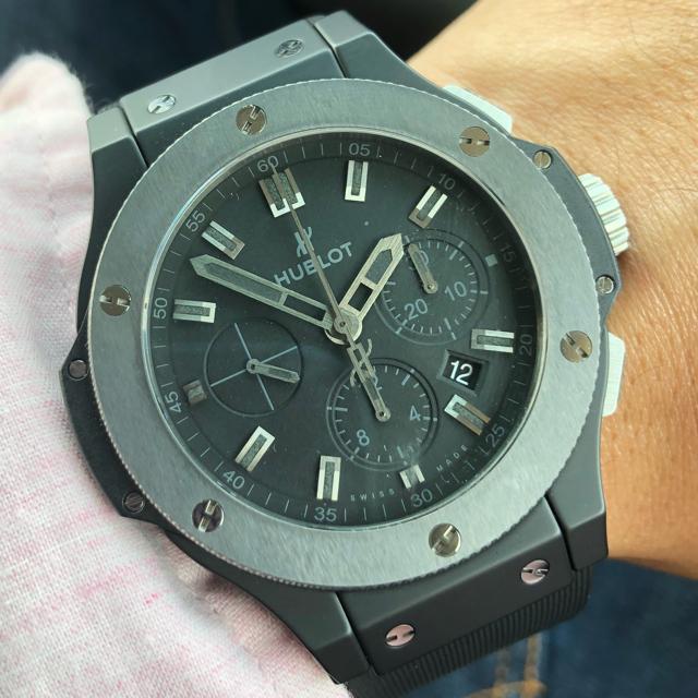 HUBLOT(ウブロ)のHUBLOT ビックバン アイスバン メンズの時計(腕時計(アナログ))の商品写真