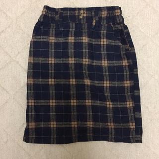 レイカズン(RayCassin)のタイトスカート タータンチェック(ひざ丈スカート)