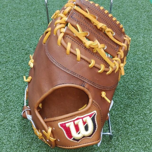 wilson(ウィルソン)のWilson[ウィルソン]硬式 一塁手用グローブ スポーツ/アウトドアの野球(グローブ)の商品写真