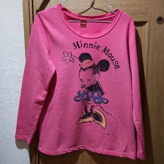 ディズニー(Disney)のディズニー ミニーちゃんのTシャツ(長袖) サイズL(Tシャツ(長袖/七分))