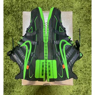 ナイキ(NIKE)の28センチ  off-white Nike ラバーダンク 黒緑(スニーカー)
