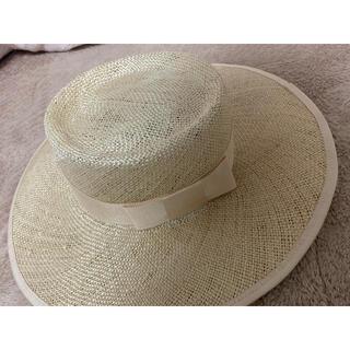 エイミーイストワール(eimy istoire)のeimy♡カンカン帽(麦わら帽子/ストローハット)