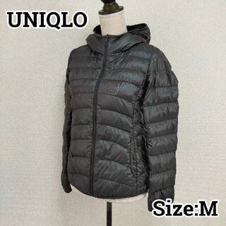 ユニクロ(UNIQLO)のUNIQLO ユニクロ フーディ ウルトラライトダウンジャケット M(ダウンジャケット)