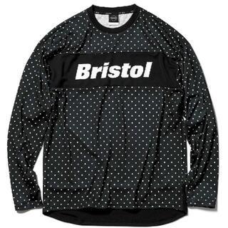 エフシーアールビー(F.C.R.B.)のF.C.Real Bristol L/S TOUR TEE A BLACK XL(Tシャツ/カットソー(七分/長袖))