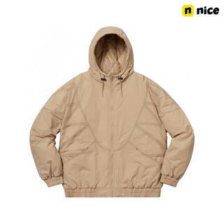 Supreme - Supreme zig zag stitch puffy jacket