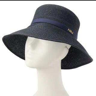 フルラ(Furla)のFURLAフルラ新品帽子(麦わら帽子/ストローハット)