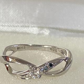 めぐ様専用豪華 K10WG ダイヤモンド リング 0.06ct (リング(指輪))