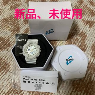 ベビージー(Baby-G)の[カシオ]ベビージー BABY-G BA-110RG-7AJF ホワイト(腕時計)