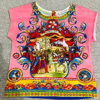ドルチェアンドガッバーナ(DOLCE&GABBANA)の☆美品☆ DOLCE&GABBANA  キッズ 80〜90cm  トップス(Tシャツ/カットソー)