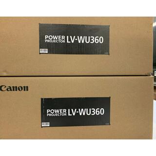 キヤノン(Canon)のdidi様専用 未使用 キヤノン プロジェクター LV-WU360(プロジェクター)
