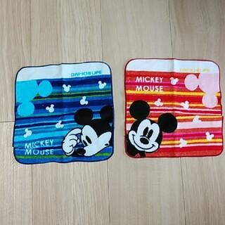 ミッキーマウス(ミッキーマウス)のミッキー ハンドタオル(キャラクターグッズ)