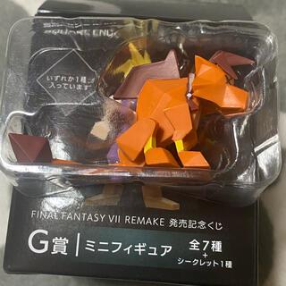 スクウェアエニックス(SQUARE ENIX)の一番くじ FF7 G賞 ミニフィギュア レッド(ゲームキャラクター)