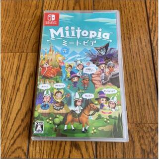 新品 ニンテンドー スイッチ ソフト Miitopia ミートピア(家庭用ゲームソフト)
