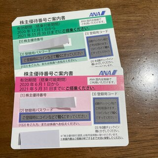 株主優待 ANA 2枚(その他)