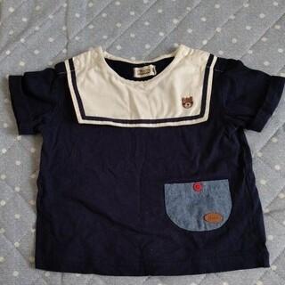 キムラタン(キムラタン)のキムラタン ピッコロ セーラー襟半袖トップス 80(Tシャツ)