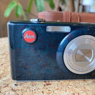 ライカ(LEICA)のLeica ライカ C-LUX 2 デジタルカメラ 限定モデル 漆塗り(青) (コンパクトデジタルカメラ)
