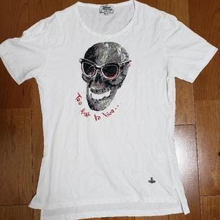 ヴィヴィアンウエストウッド(Vivienne Westwood)の【美品】ヴィヴィアンウエストウッドTシャツSサイズ(Tシャツ/カットソー(半袖/袖なし))