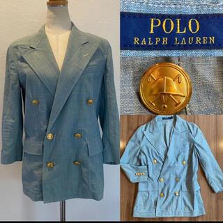 ポロラルフローレン(POLO RALPH LAUREN)のRalph Laurenラルフローレン テーラードジャケット 男女兼用 マリン(テーラードジャケット)