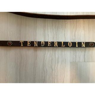 テンダーロイン(TENDERLOIN)のテンダーロイン ナローベルト キムタク着 プライド(ベルト)