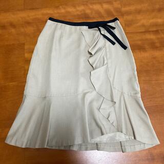 エニィスィス(anySiS)のany SIS スカート サイズ2(ひざ丈スカート)